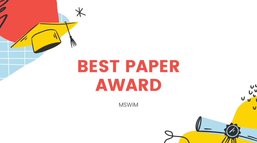 best paper award - mswim